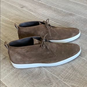 Tod's Brown Mens Suede Desert Boot Size 11.5
